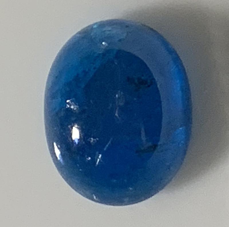 2.74ct Teal Blue Madagascan Apatite -  No reserve