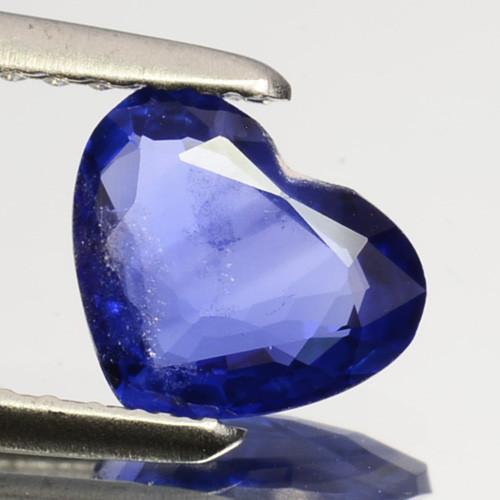0.92 Cts Natural Corundum Sapphire Nice Blue SriLanka Gem