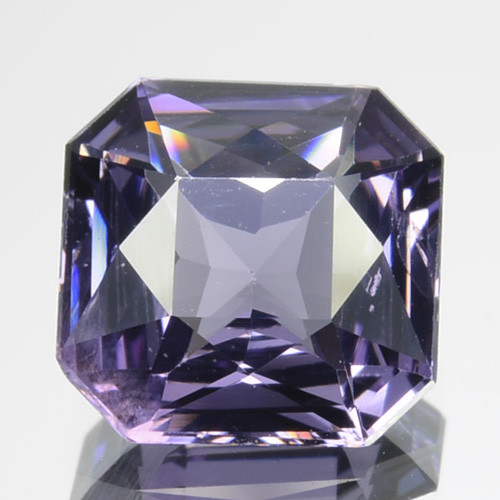 1.70 Cts Beautiful Natural Purple Octagon Spinel SriLanka Gem