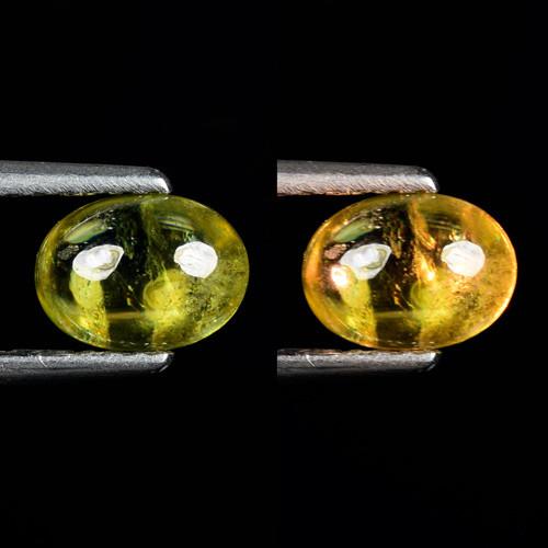 0.93 Ct Natural Sphene Color Change Sparkiling Luster Gemstone. SPC 31