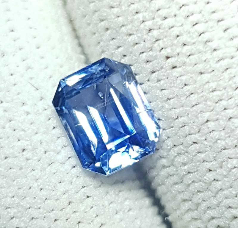 NO HEAT 2.06 CTS CERTIFIED NATURAL STUNNING CORNFLOWER BLUE SAPPHIRE SRI LA