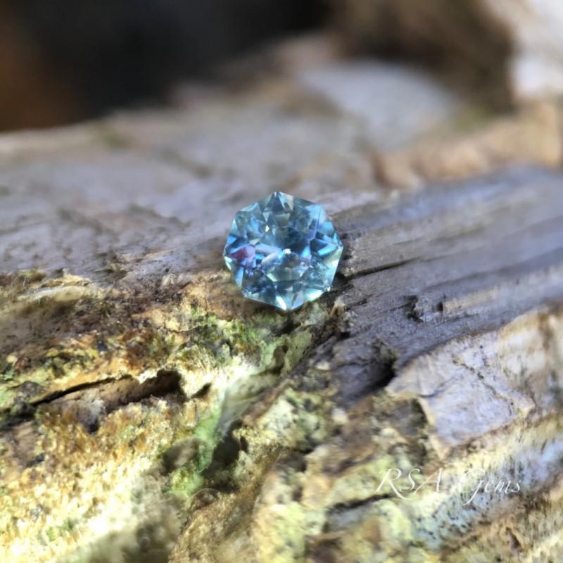 Blue and Purple Montana Sapphire - 0.85 carats
