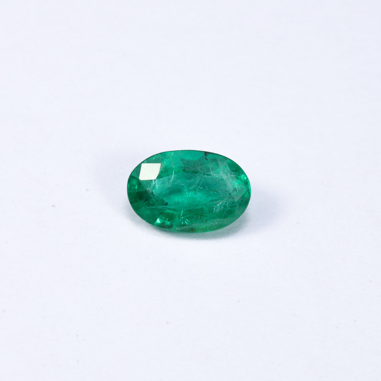 0.77ct Lab Certified Zambian Emerald