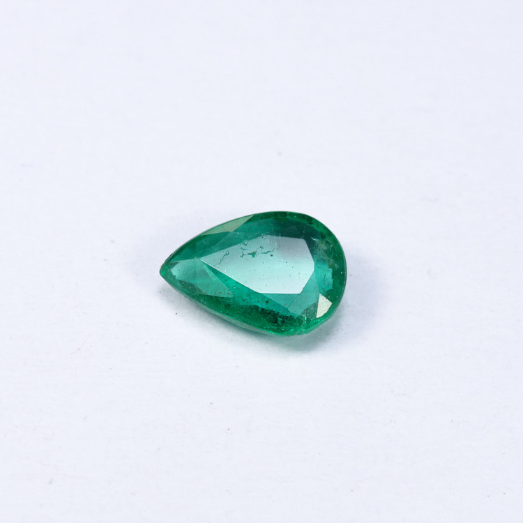 0.89ct Lab Certified Zambian Emerald
