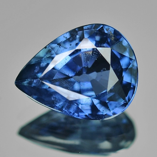 1.34 Cts Natural Blue Ceylon Sapphire Loose Gemstone