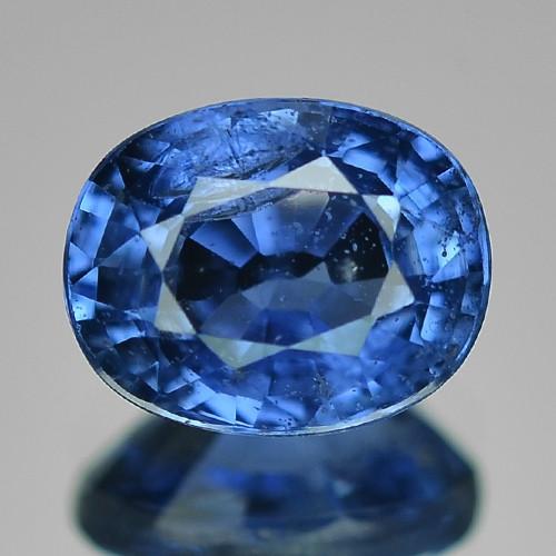 1.00 Cts Natural Blue Ceylon Sapphire Loose Gemstone