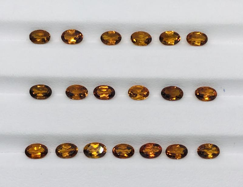 7.95 Carats  Mandarin Garnet  Gemstones Parcel