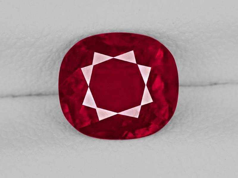 Ruby, 1.37ct - Mined in Burma | Certified by GRS