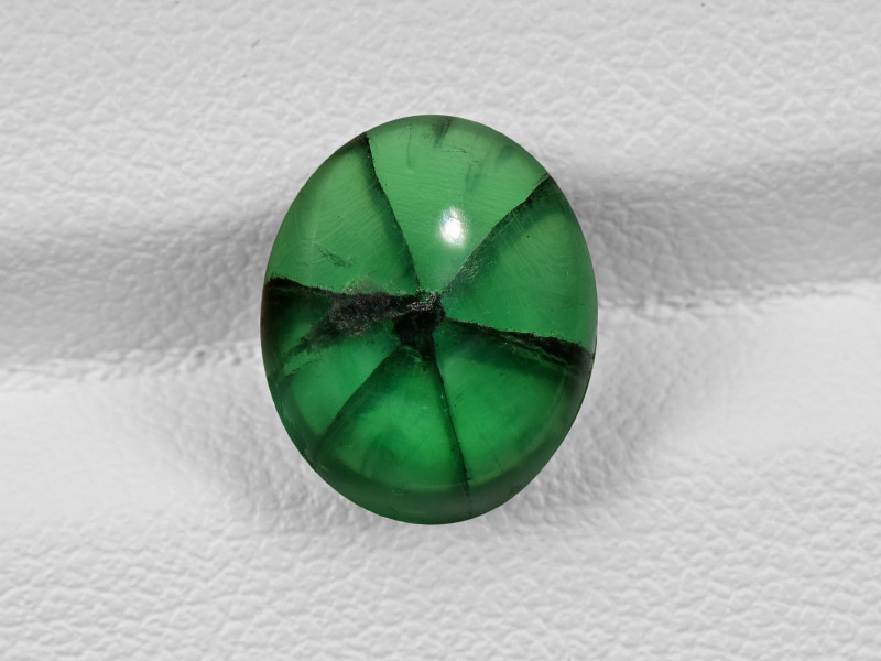 Trapiche Emerald, 4.02ct - Mined in Colombia | Certified by GIA
