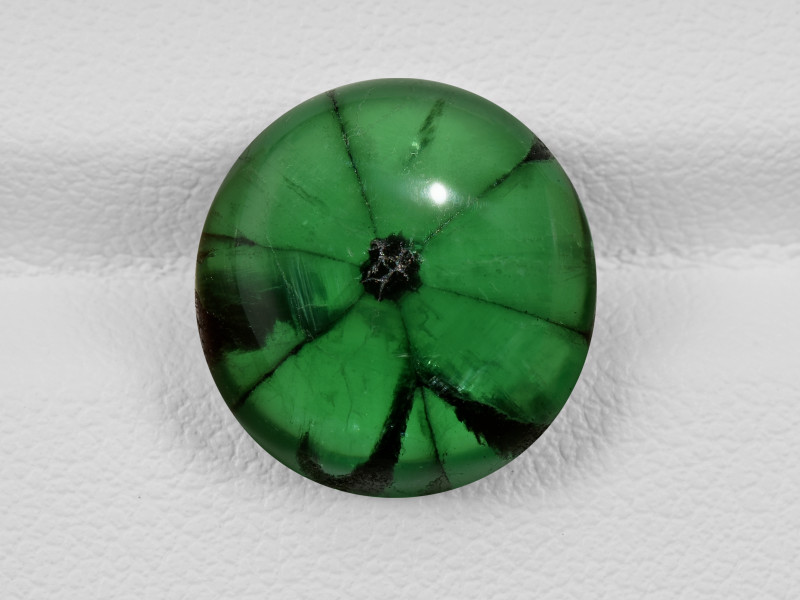 Trapiche Emerald, 9.14ct - Mined in Colombia | Certified by GIA