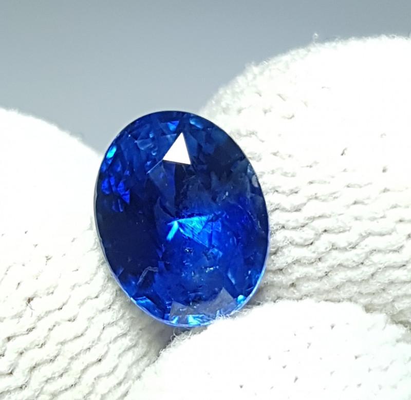 CERTIFIED 2.22 CT NATURAL STUNNING OVAL MIX ROYAL BLUE SAPPHIRE SRI LANKA