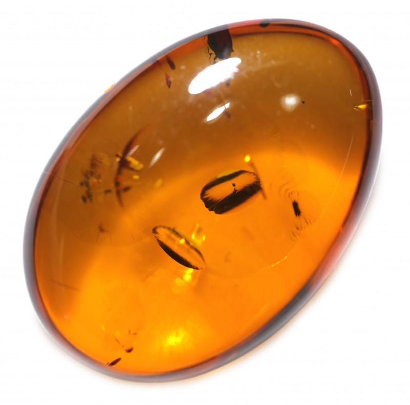 21 Cts  Honey  Yellow Amber Gemstones    AM 1674