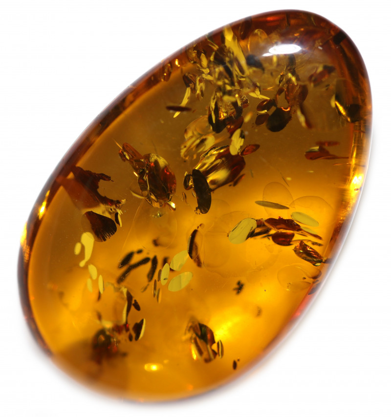 23 Cts  Honey  Yellow Amber Gemstones    AM 1682