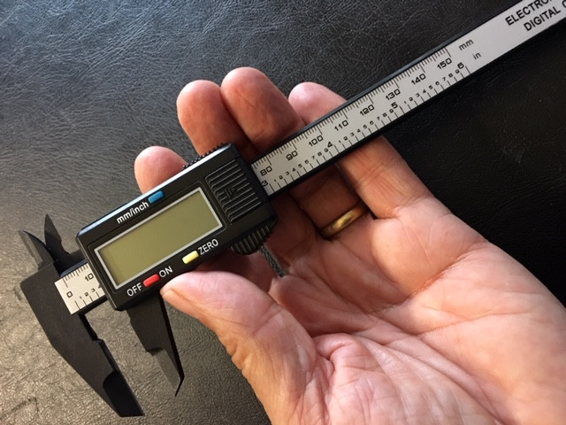Large size Electronic Calibrator,inchs or mm OPJ 2911
