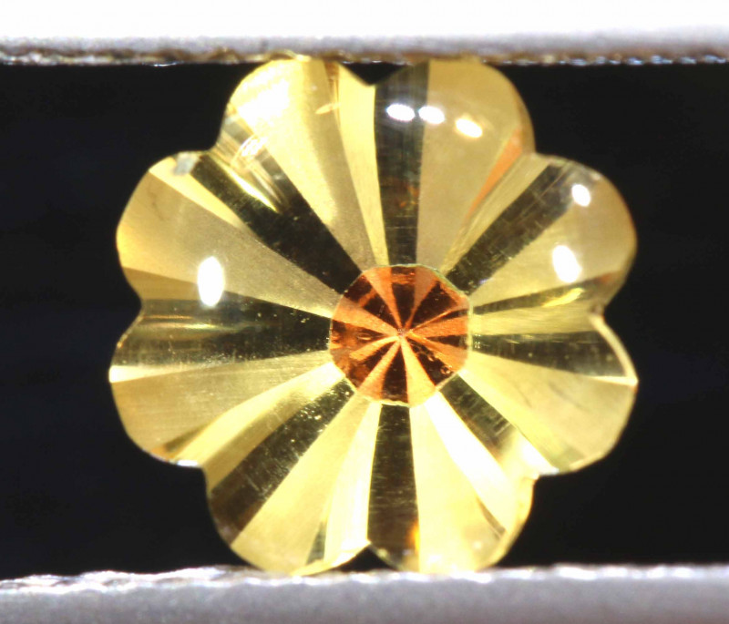 1.60 CTS -CITRINE FLOWER CARVING   LG-2