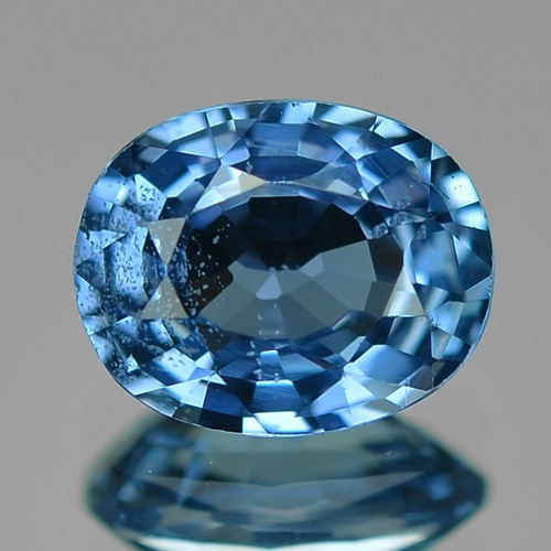 1.07 Cts Natural Blue Ceylon Sapphire Loose Gemstone