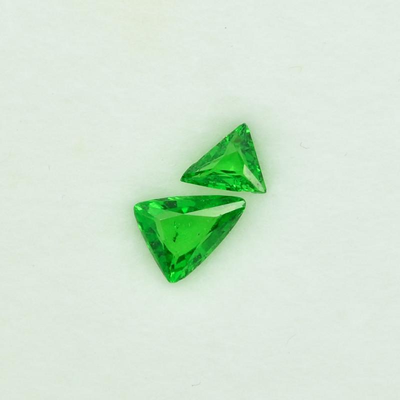 1.05 Cts Beautiful Lustrous Natural Green Garnet