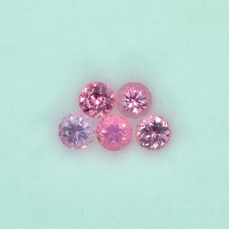 1.86 Cts Stunning Lustrous Natural Spinel Round Lot