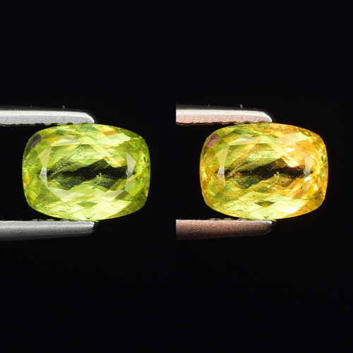 0.98 CT SPHENE WITH DRAMATIC FIRE GEMSTONE SP7