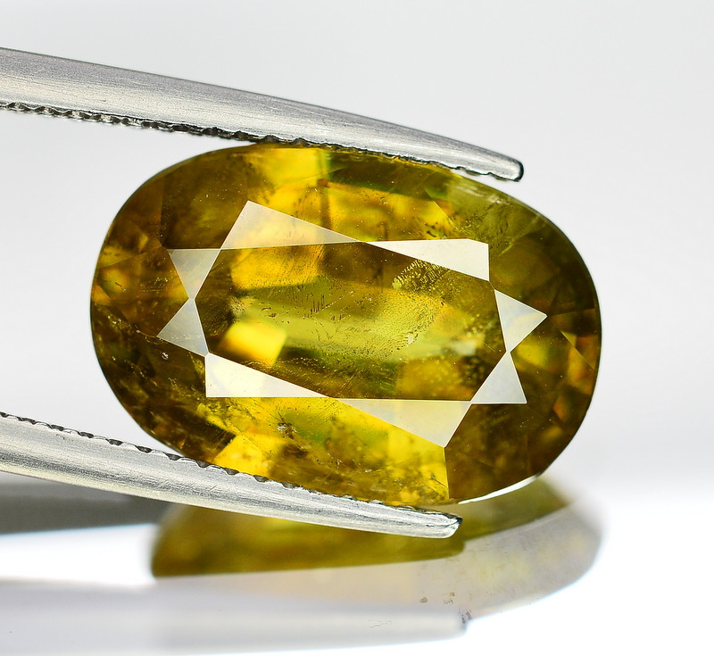 6.55 CT Natural Ravishing Sphene Titanite  Loose Gemstone
