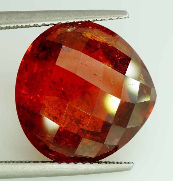 16.83  ct. Natural Orange Spessartite Garnet  Sri Lanka  - IGE Certified
