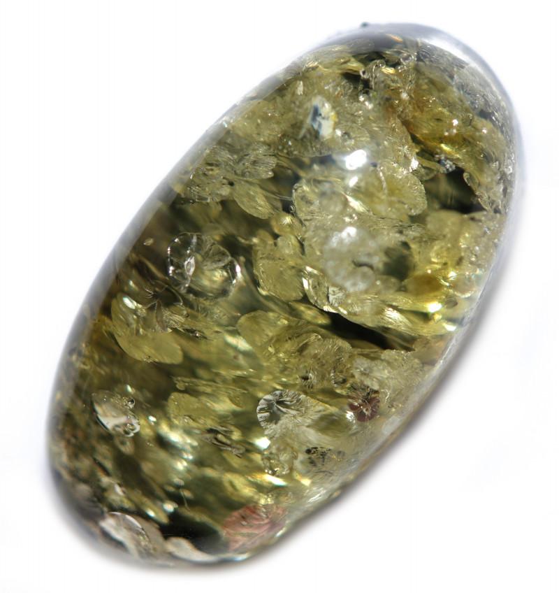 26 Cts  Green Amber Gemstones    AM 1720