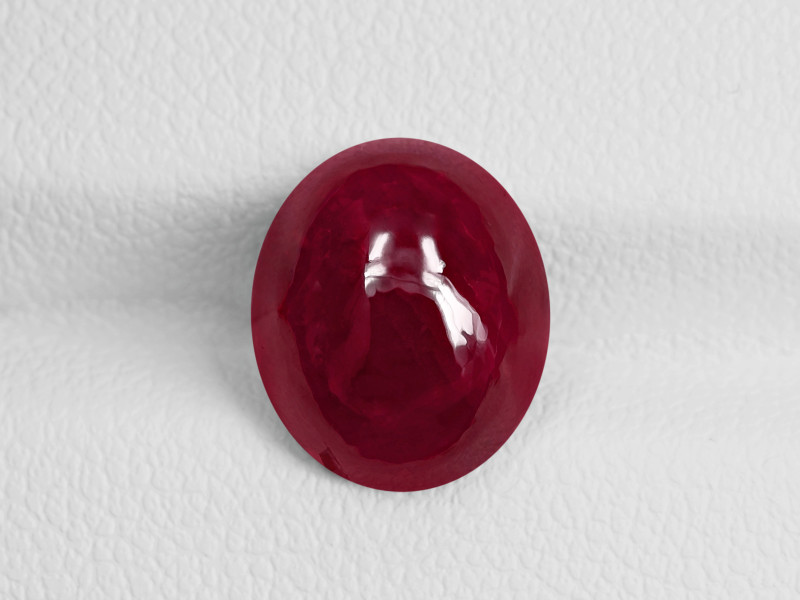 Ruby, 5.04ct - Mined in Kashmir | Certified by GRS