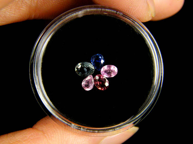 PARCEL BEAUTIFUL HAND PICKED 4X3 SAPPHIRES 1 CARAT  TW 311
