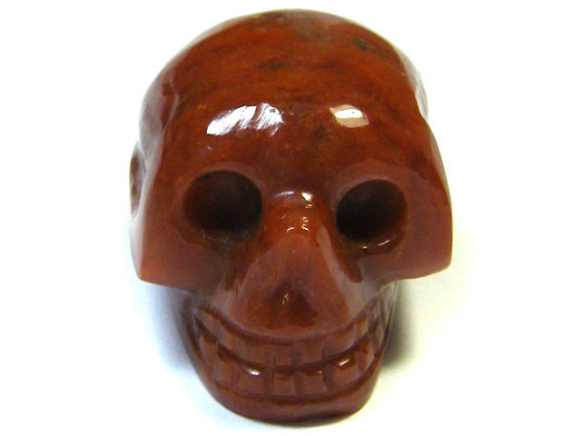 JASPER SKULL SKELETON CARVING   71.40CTS   AG2068