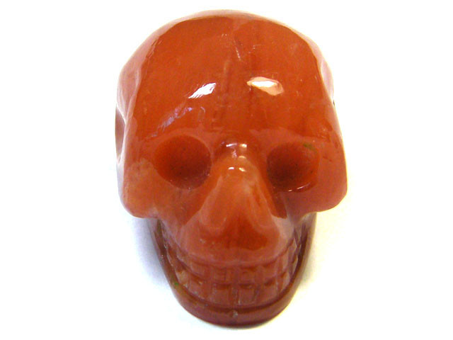 JASPER SKULL SKELETON CARVING   64.00CTS   AG2069