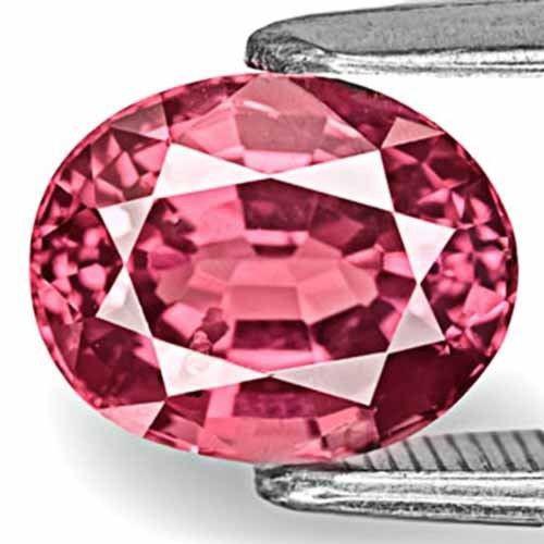 Sri Lanka Spinel, 2.56 Carats, Bright Bubblegum Pink Oval