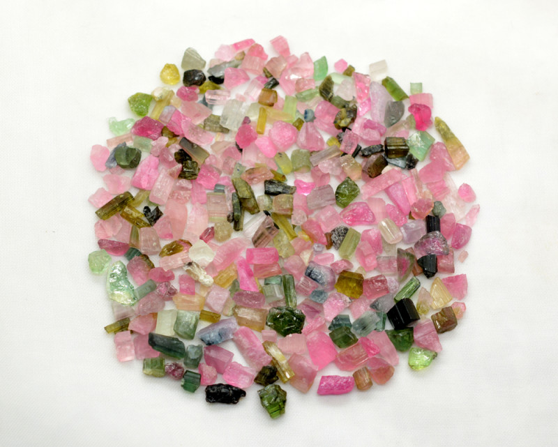 150 CT Natural Mix Tourmaline  From Afghanistan