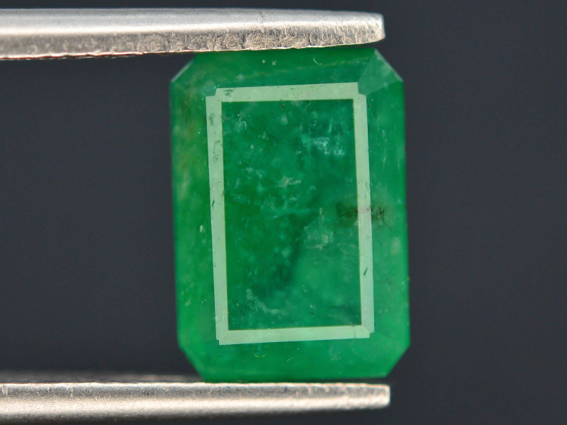 Top Quility 3.00 ct Natural Vivid Green Color Emerald~Swat ~ T G