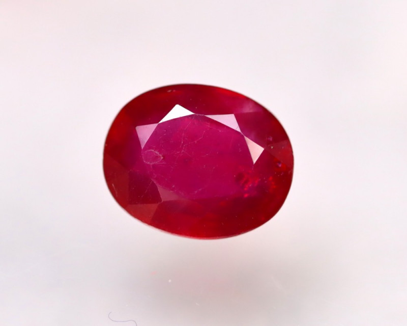 Ruby 3.26Ct Madagascar Blood Red Ruby E1618/A20