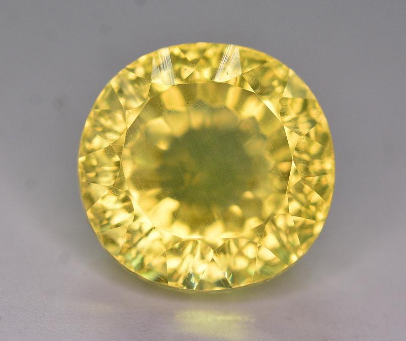 Fancy Cut 11.90 Ct Natural Citrine Gemstone