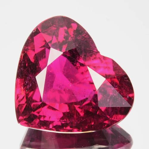 ~LOVELY~ 14.41 Cts Natural Rubelite Tourmaline Raspberry Pink Nigeria
