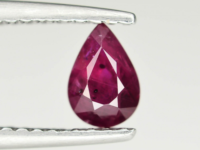 0.60 cts Natural Red Color Ruby - Mozambique