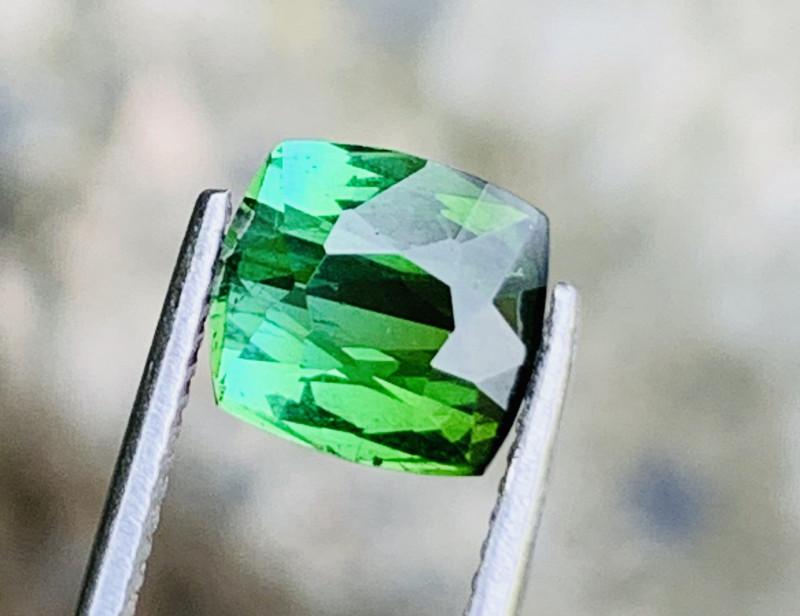 2.10 bluish green colour Tourmaline Gemstone From  Afghanistan