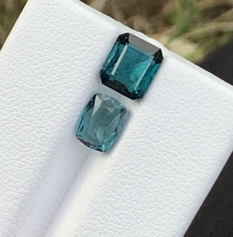3.15 carats Indicolite colour Tourmaline Gemstone From Afghanistan