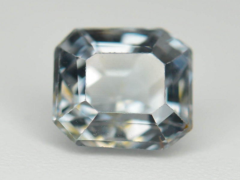 Top Asscher Cut 0.90 CT Dazzling Color Natural Spinel  From Mogok