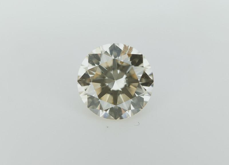 0.41 cts , Yellow Diamond , Yellow Gemstone