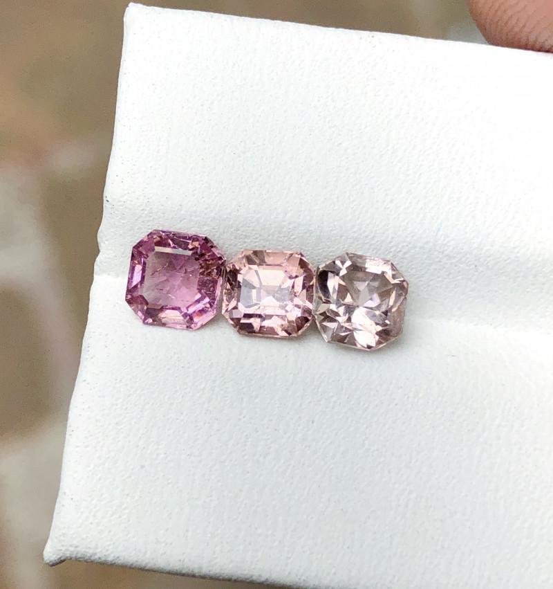 2.60 Ct Natural Pinkish Transparent Tourmaline Gems Parcels