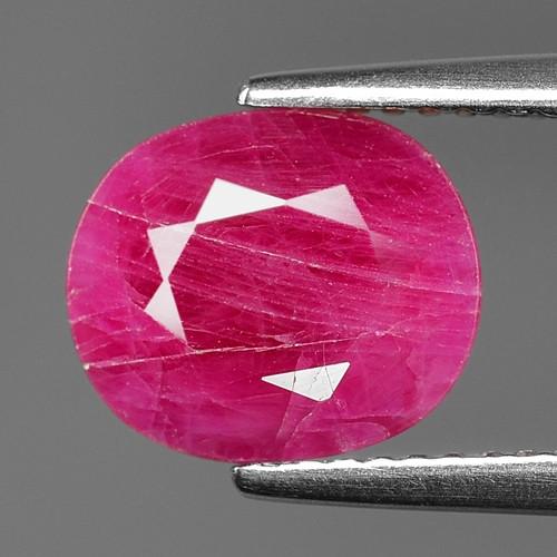 2.94 Cts Amazing rare Natural Pinkish Red Ruby Loose Gemstone