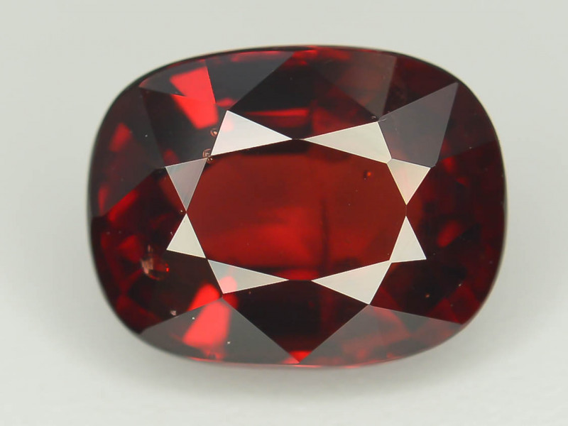 Reddish Orange 3.0 Ct Natural Mahenge Garnet ~ Tanzania