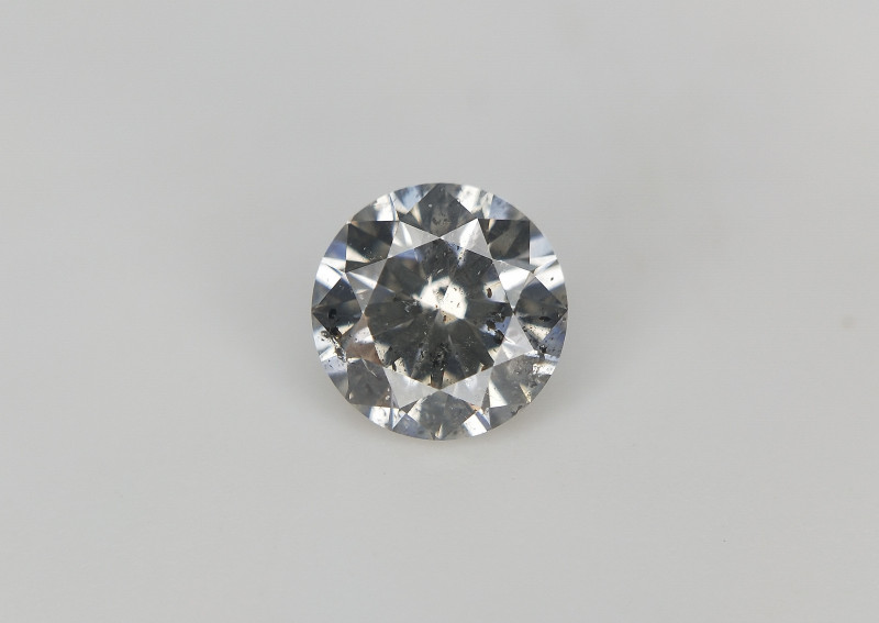 0.46 CTS , High Quality Salt Pepper Diamond , Salt and Pepper Diamond , Rou