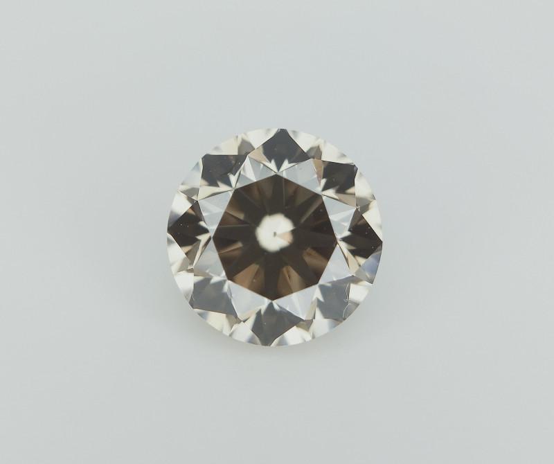0.45 cts , Dark Chocolate Diamond , Beautiful Color Diamond