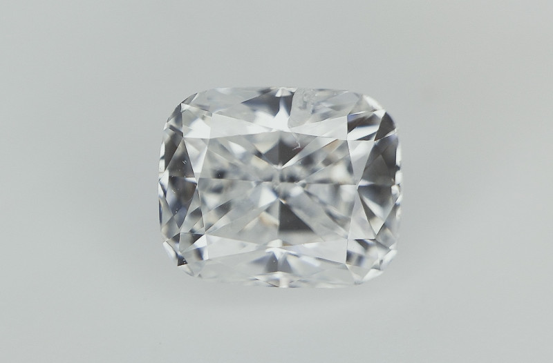 0.61 cts , Cushion Brilliant Cut Diamond , White Diamond