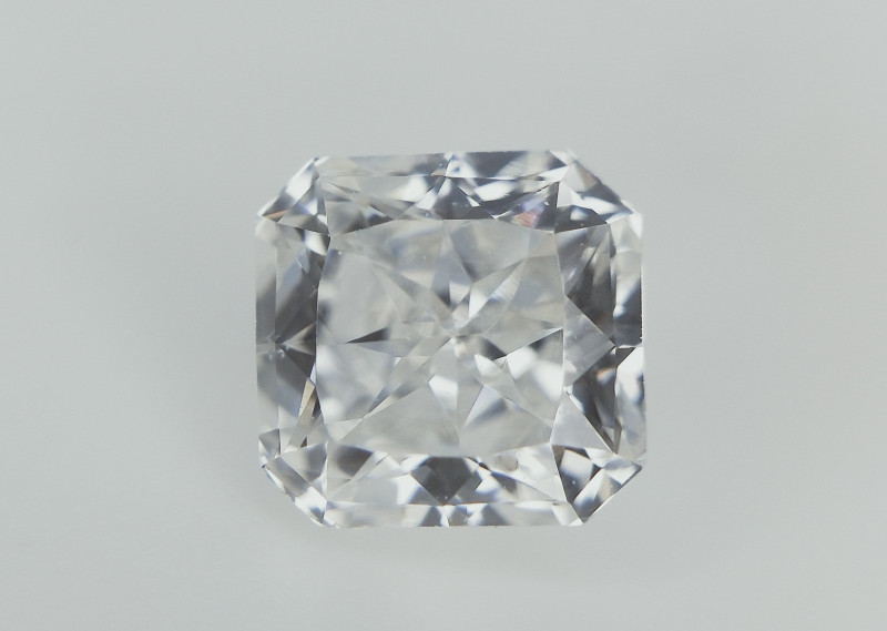 0.64 CTS , Rarest Radiant Modified Brilliant Cut Diamond , Amazing Luster ,