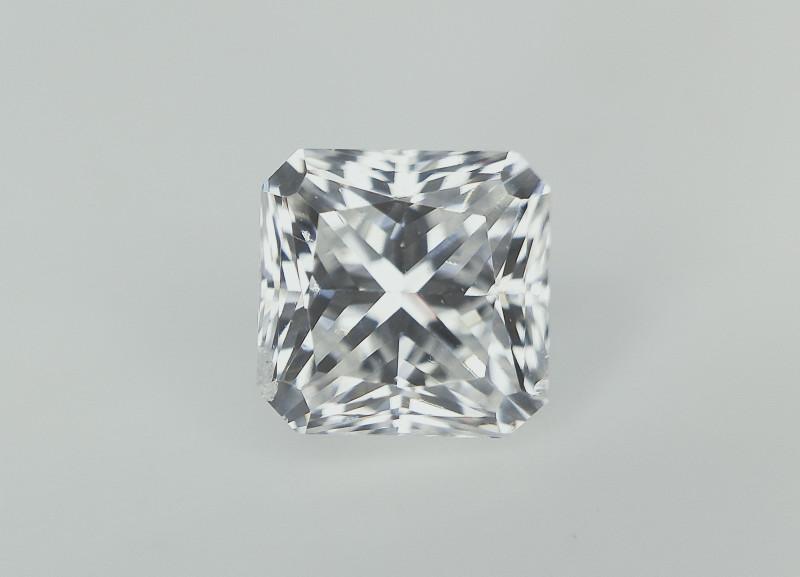 0.45 cts ,Beautiful Square Radiant Cut Diamond , Exclusive gemstone , Preci