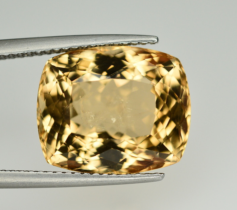 10.75 Ct Natural Heliodor ~ AAA Grade ~ Yellow Color